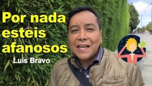Lee más sobre el artículo Por nada estéis afanosos – Luis Bravo