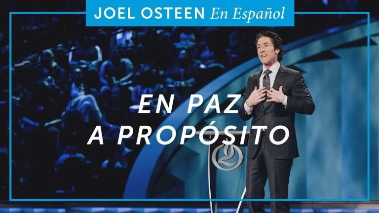 En paz a propósito – Joel Osteen