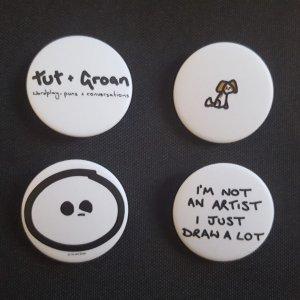 Badges: All Five Designs