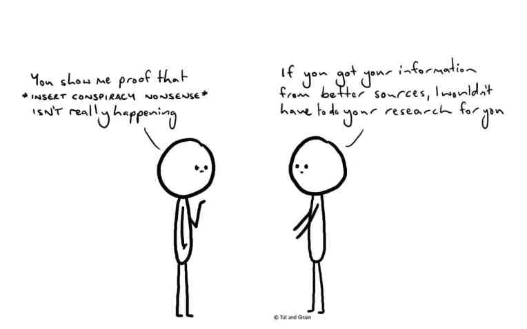 Tut and Groan Prove It cartoon