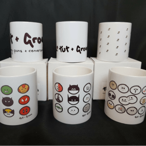 Mugs: All Six Designs