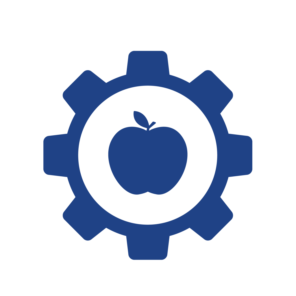 apple in a cog