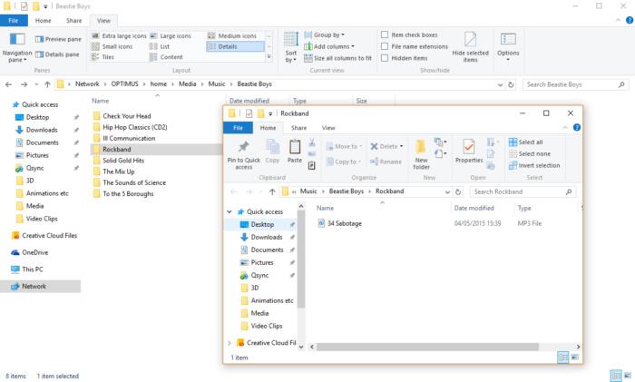 Exploded compilation folder