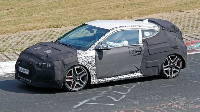 Hyundai Veloster N spotted lapping the Nurburgring