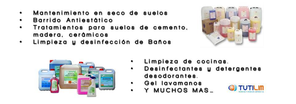 Banner productos de limpieza