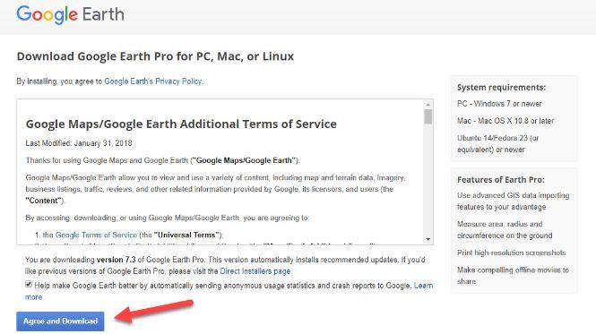 telecharger google earth sur windows 7