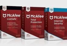 Télécharger McAfee 2022 Antivirus