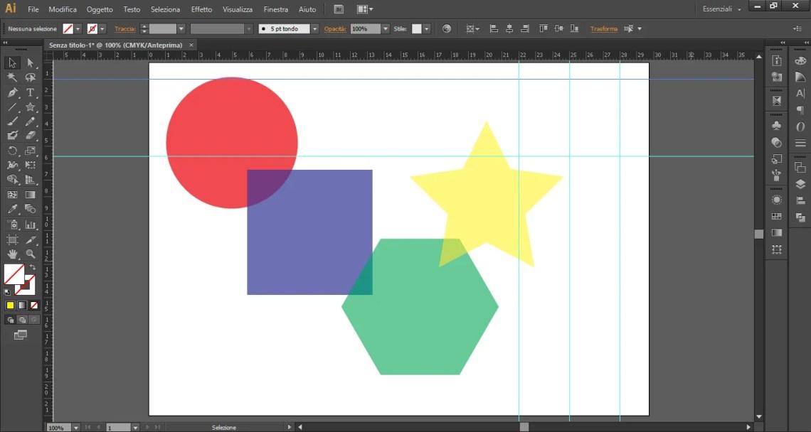 Griglia per creare un triangolo perfetto