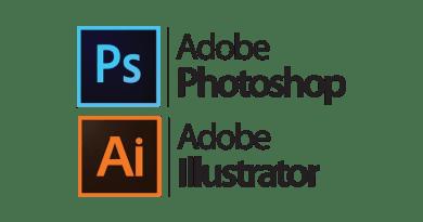 Photoshop and Illustrator full logo