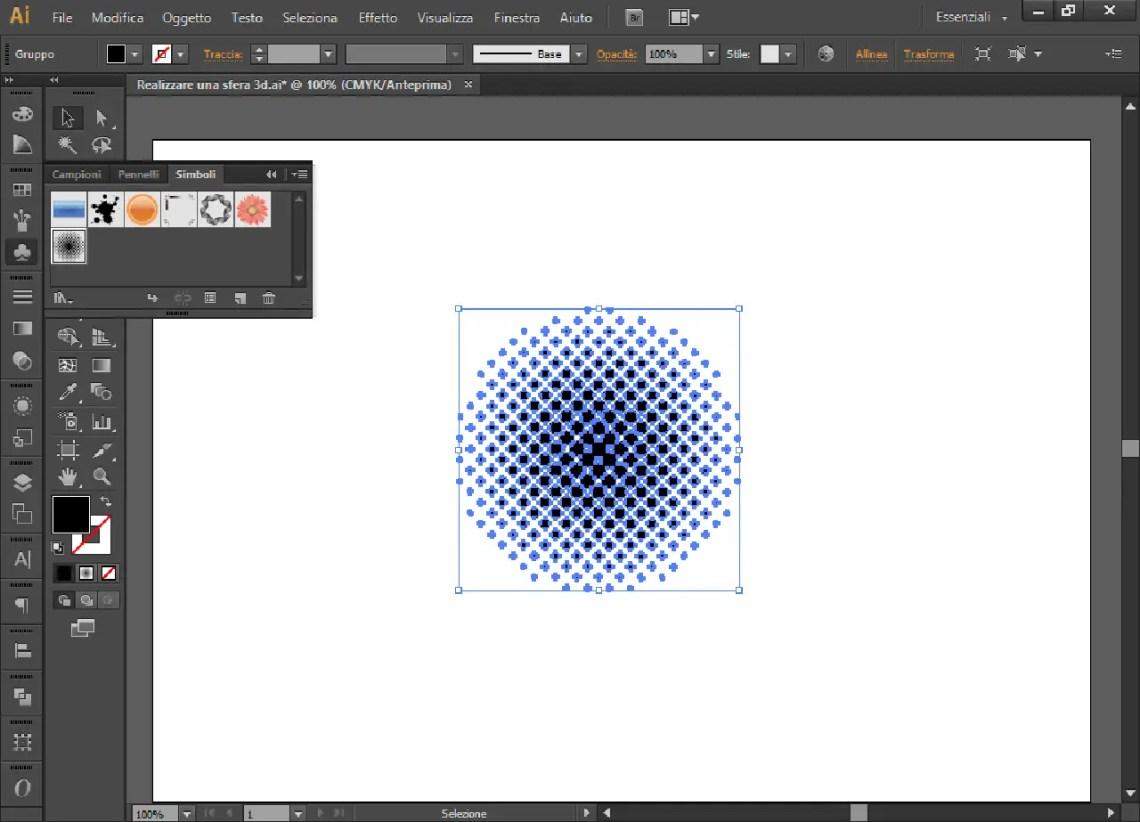 Realizzare una sfera 3d