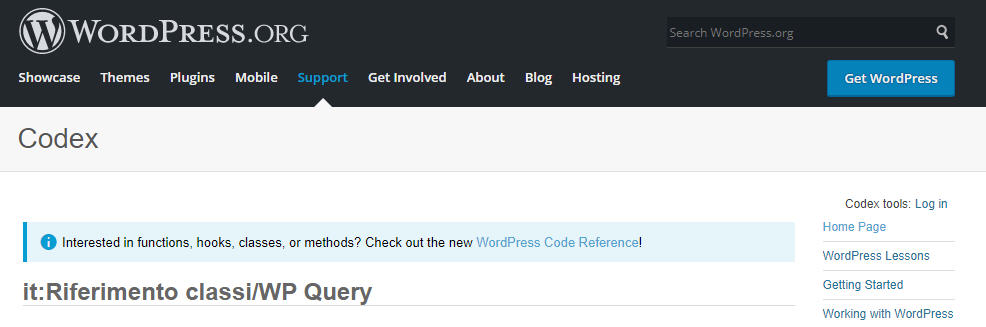 WP Query di WordPress