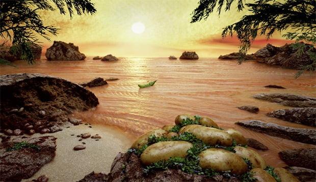 Deliziosi paesaggi di cibo di Carl Warner 10