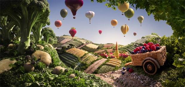 Deliziosi paesaggi di cibo di Carl Warner 11