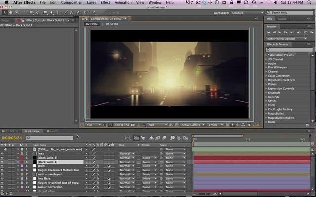 Compositing in After effects: la sua importanza 1