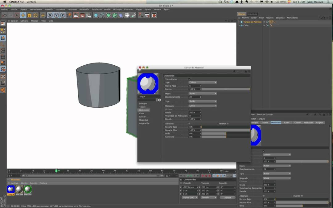 Sketch and Toon Cinema4d. Le basi