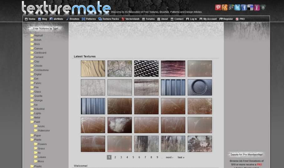 Texture free - le migliori risorse per il download di texture free (update Settembre 2017) 4