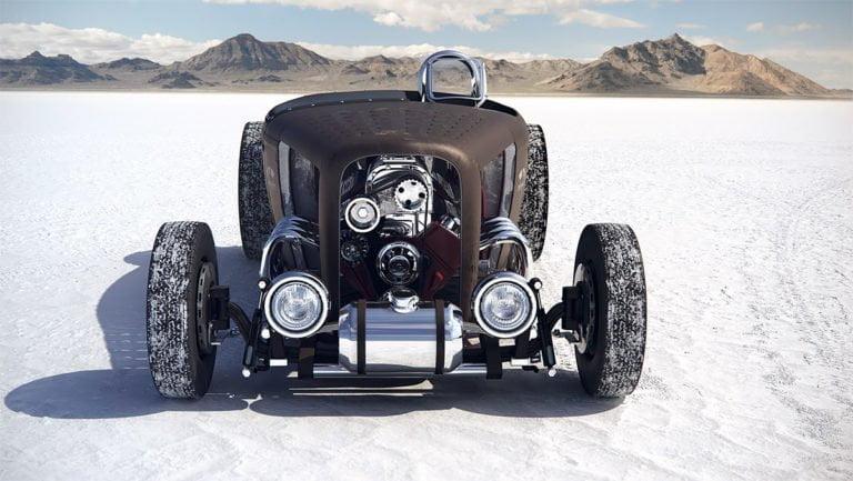 Render 3d di automobili iperrealistici di Carlos Pecino 4