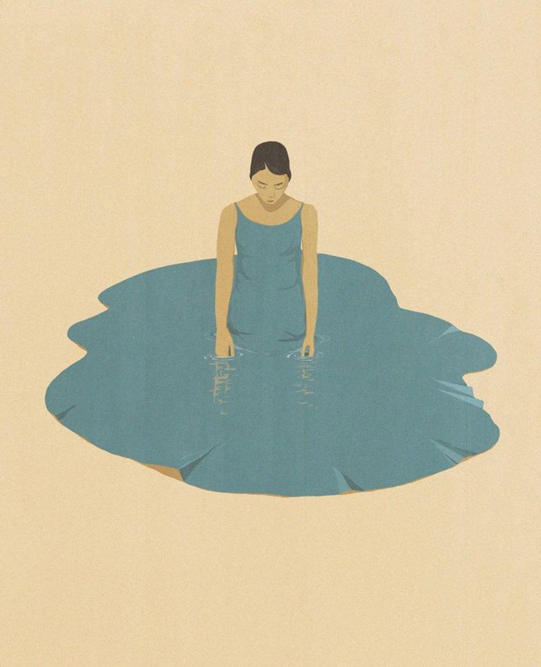 Illustrazioni minimaliste dell'artista Andrea Ucini 5