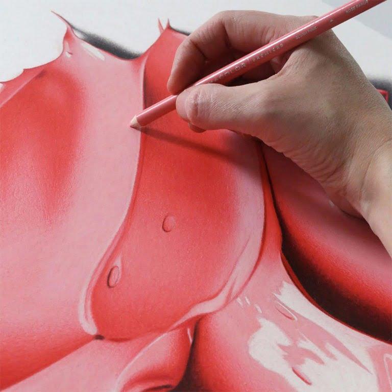 Disegni a mani iperrealistici di CJ Hendry 7
