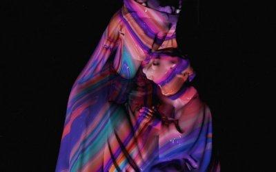 Artworks psichedelici dell'artista Quentin Deronzier