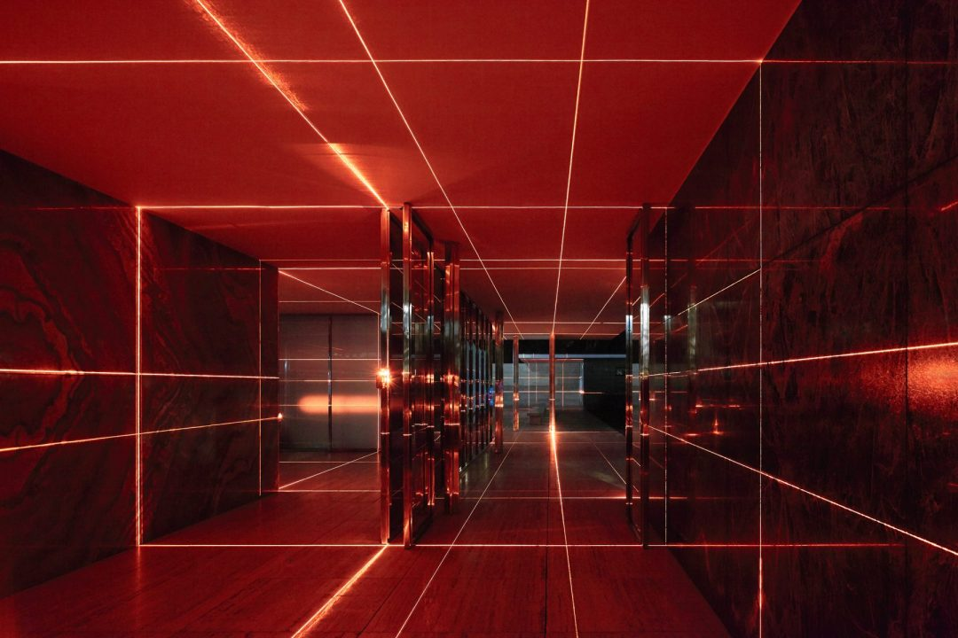 Geometria di luci. Un lavoro di Luftwerk 1