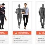 modelli umani 3d
