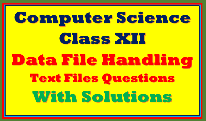file handling in python class 12