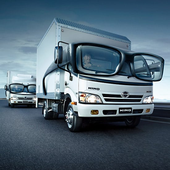 hino 30 Unique and Creative Advertising Campaigns