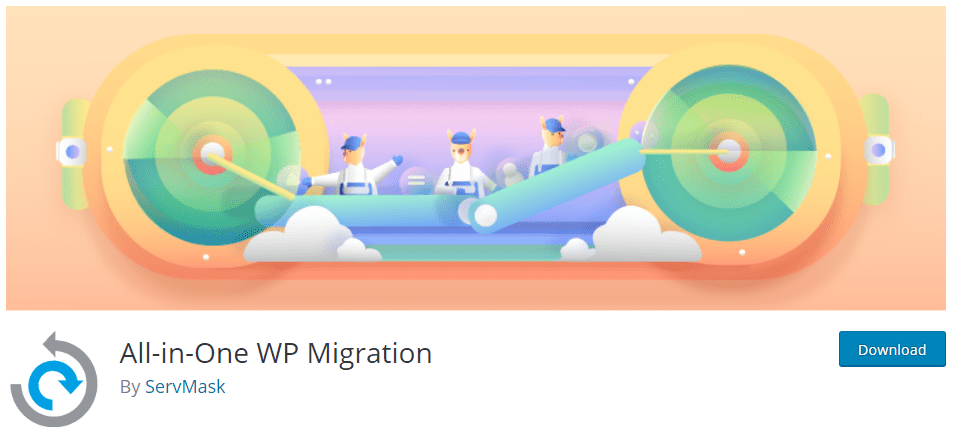All-in-one-WP Migration plugin