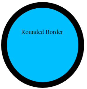 Rounded border in CSS