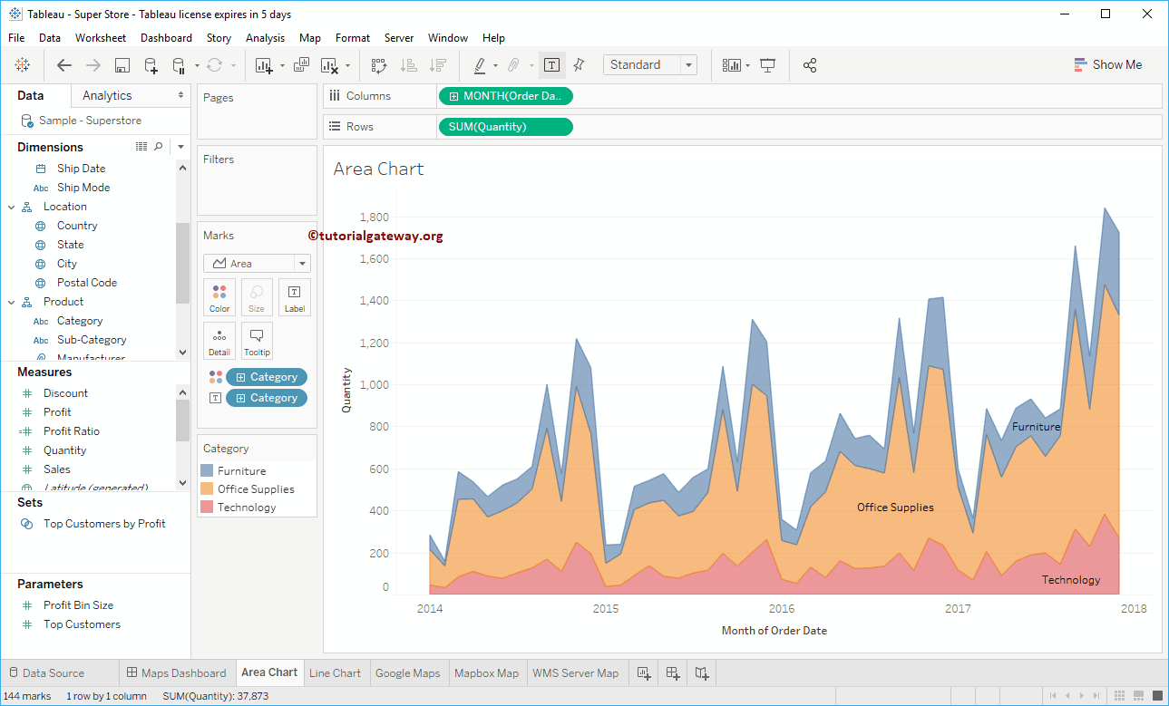 How To Create A Story In Tableau