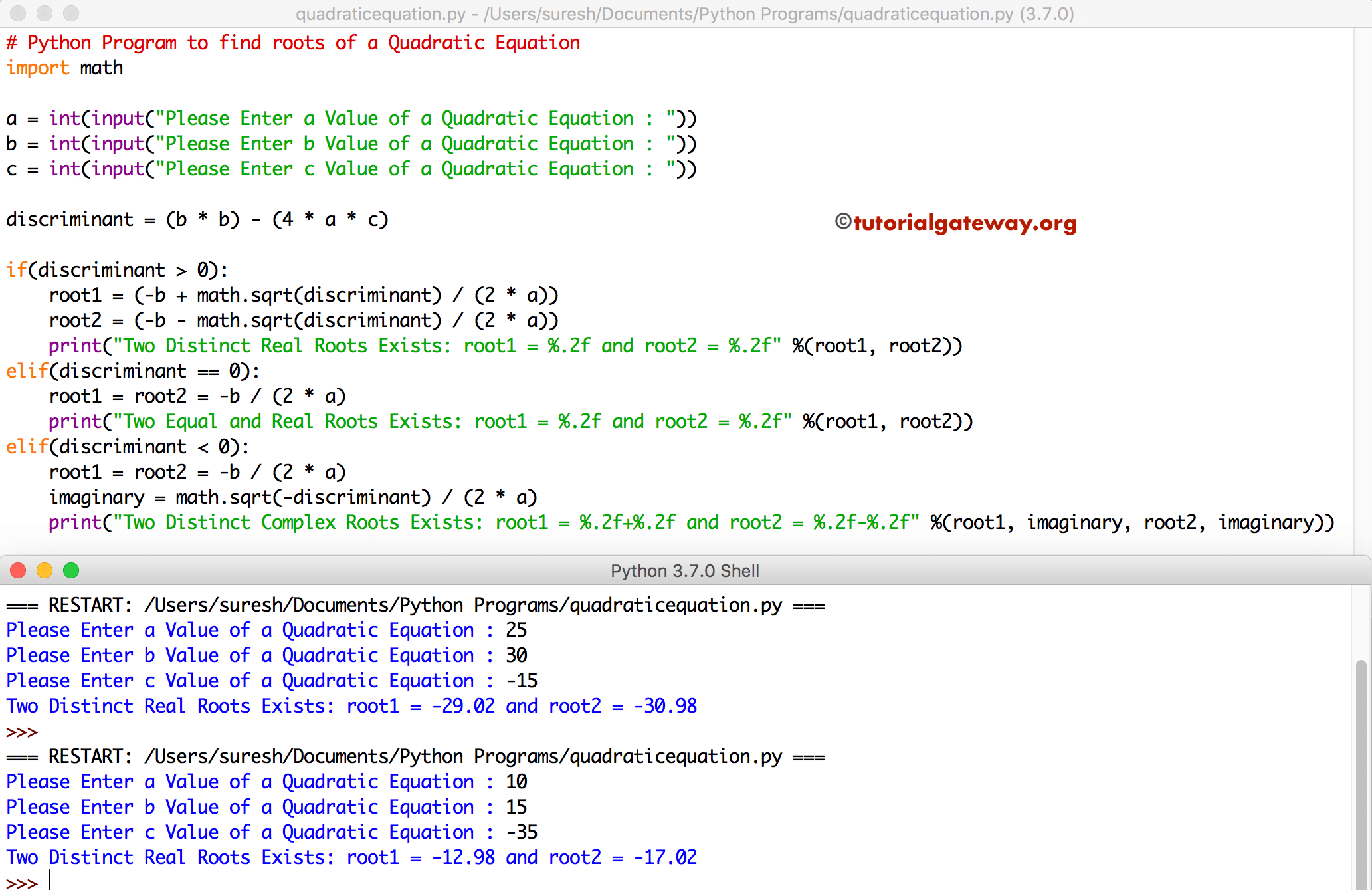 How To Write Math Equations In Python
