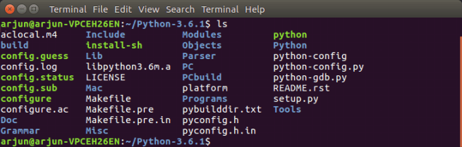 Python folder - Python Tutorial - www.tutorialkart.com