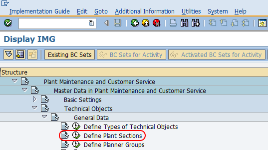 define plant section sap path