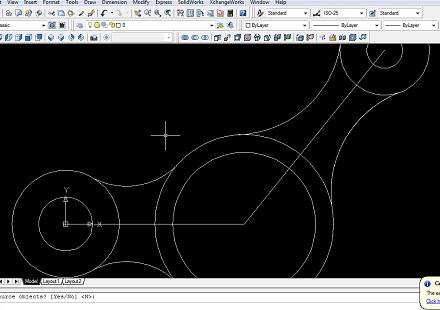 Design Control Arm With AutoCAD