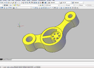 Design Control Arm With AutoCAD