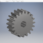 How to Create Spur Gear in Autodesk Inventor – Inventor Tutorial