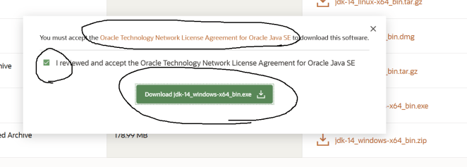 Java 14 License Agreement
