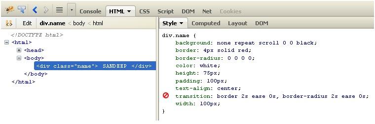 CSS3 Transition -Tutorial Savvy