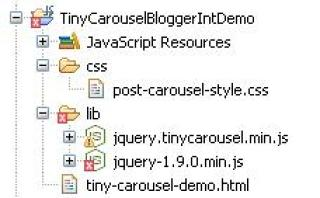 Jquery Tiny Carousel With Blog Posts -Tutorial Savvy