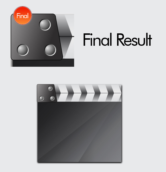 Film Can, Reel and Clapper Board Vector Tutorial in Illustrator CS5 – Part II 11