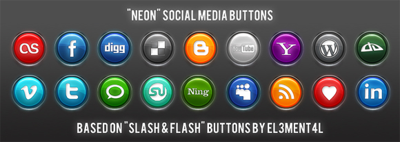 15 Free Social Media Icon Packs - Freebies 43