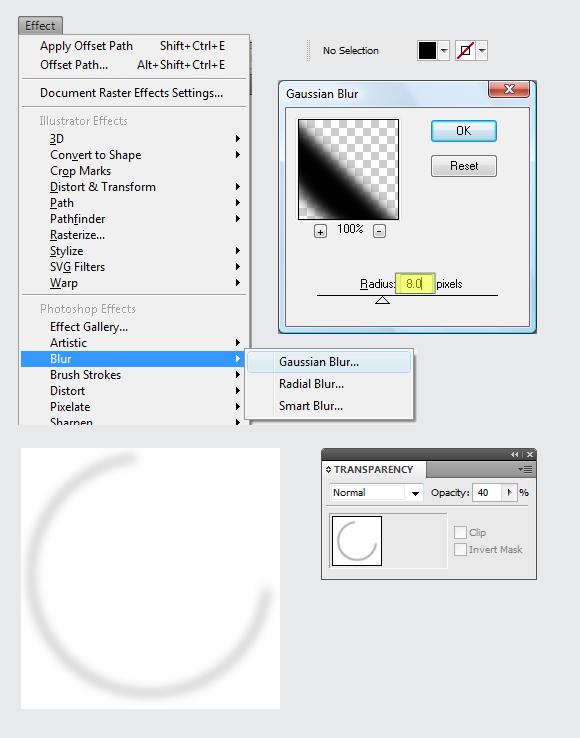 Web 2.0 Sticker Button Effect in Adobe Illustrator 14