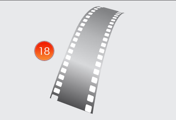 Film Can, Reel and Clapper Board Vector Tutorial in Illustrator CS5 – Part III 11