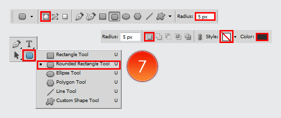 Shiny Button in Adobe Photoshop CS5 4
