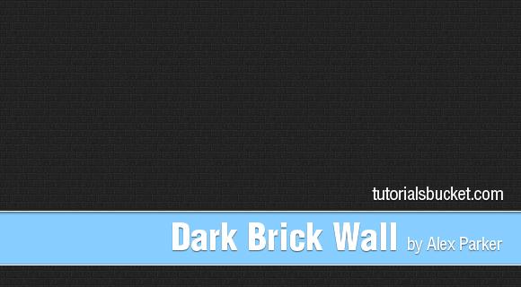 Dark Brick Wall Pattern