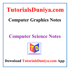 Computer Graphics Notes PDF