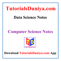 Data Science Notes PDF