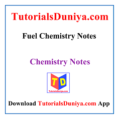 Fuel Chemistry Notes PDF