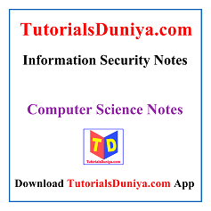 Information Security Notes PDF